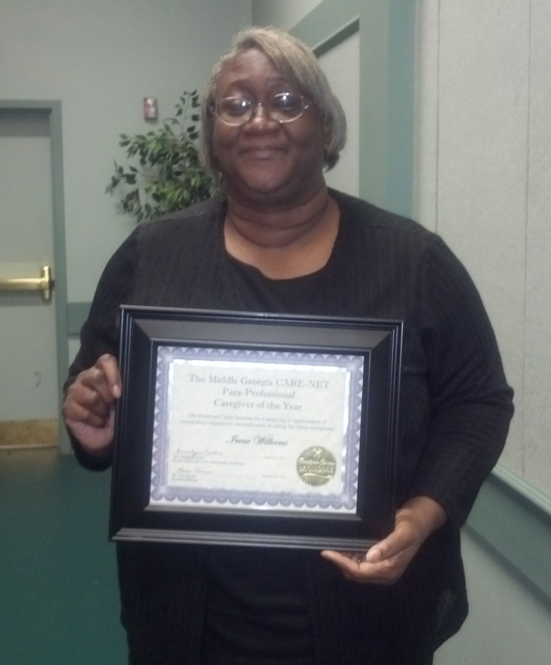 River edges williams named care net para professional caregiver river edges williams named care net para professional caregiver of the year xflitez Image collections